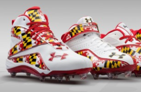 Maryland Under Armour Cleats