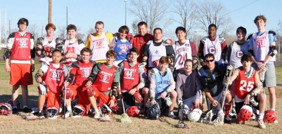 Magnet High School alumni game lacrosse