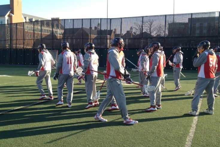 Maryland lacrosse first day of practice