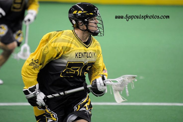Kentucky Stickhorses box lacrosse NALL Porter McKay