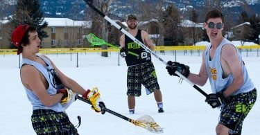Missoula Elite Lacrosse Club snow lax winter