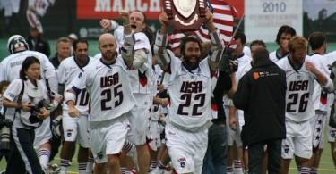 Chris Schiller Ryan Powell Team USA 2010 World Champs lacrosse