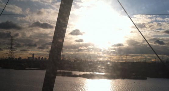 Train ride morning nyc philly