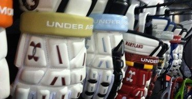 Under Armour Lacrosse gloves