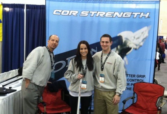 cor strength lacrosse shaft