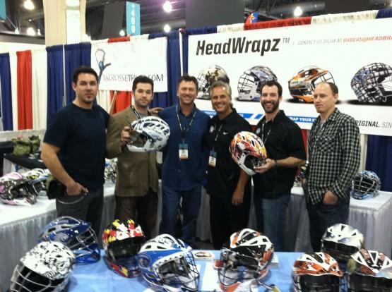 Mikey Powell Easton Lacrosse HeadWrapz