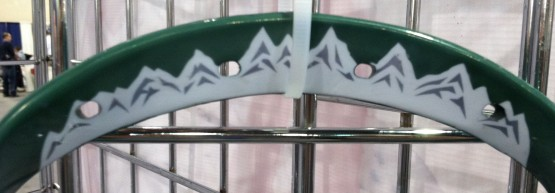 Mountain range lacrosse dye job