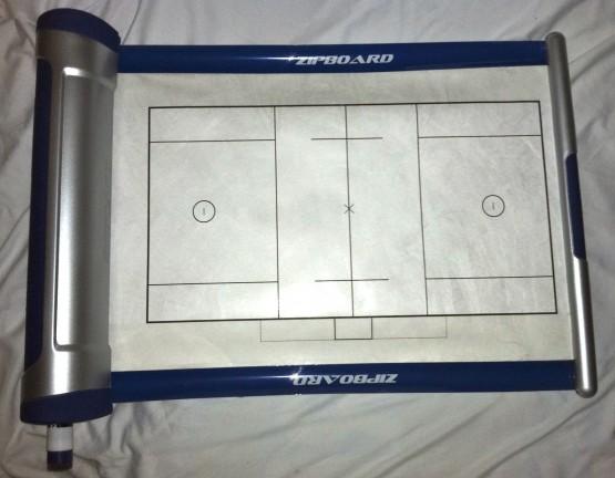 ZipBoard dry erase lacrosse