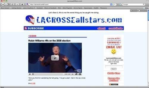 LaxAllStars.com Version 1
