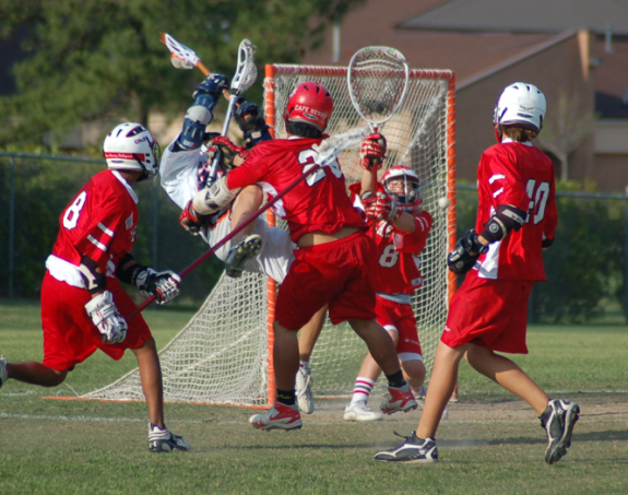 Caption Contest BIG lacrosse hit