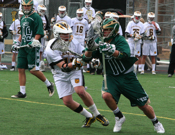 Colorado College CSU MCLA NCAA Lacrosse