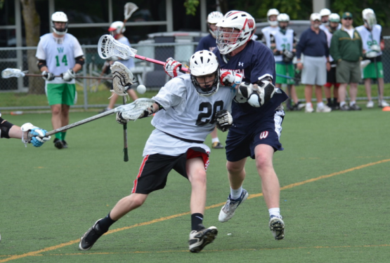 Lacrosse ride takeaway check loose ball