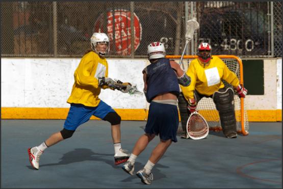NYC Box lacrosse ULAX LaxAllStars.com
