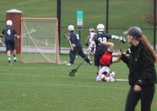 WSU GonzAGA lacrosse hit