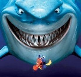 Nemo shark fear Dorry