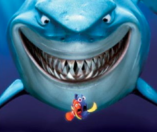 Nemo shark fear Dorry