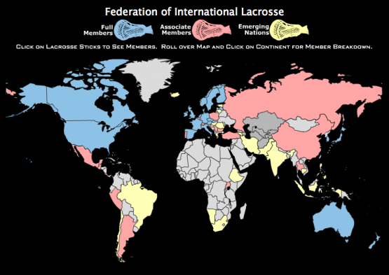 FIL lacrosse countries