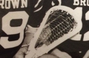 Old School Brown Lacrosse Traditional stick