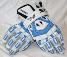 Hopkins Assault Gloves, signed by Kyle Harrison
