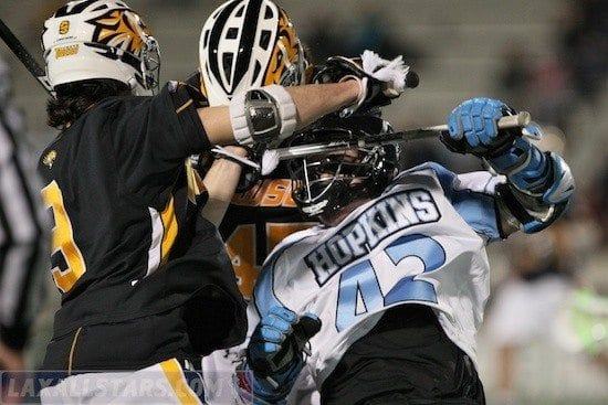 Johns Hopkins vs Towson men's lacrosse 25