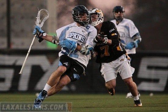 Johns Hopkins vs Towson men's lacrosse 45