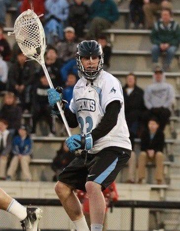 Johns Hopkins vs Towson men's lacrosse 46