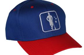 LAS Logo Hat - Red/Royal