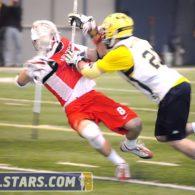 Michigan vs Denison Lacrosse Photo 12