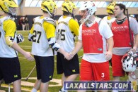 Michigan vs Denison Lacrosse Photo 19