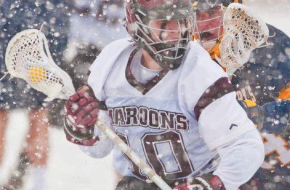 Roanoke St.Mary's Lacrosse snow bowl lax