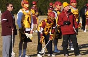Salisbury Practice Berkman lacrosse