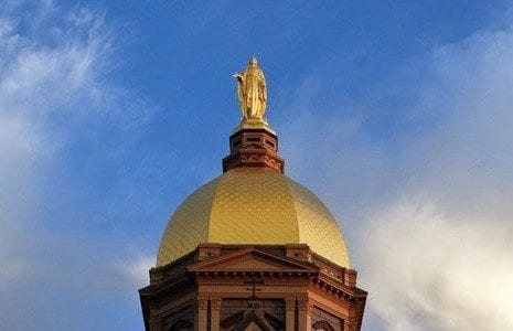 Notre Dame Golden Dome