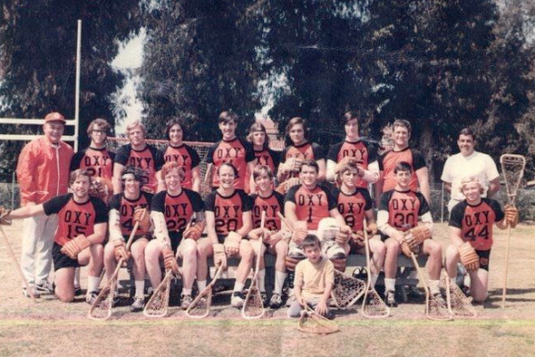occidental college lacrosse 1971