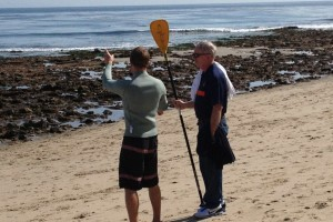 sean lindsay jim lindsay paddle boarding