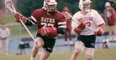 Bates Wesleyan old school lacrosse