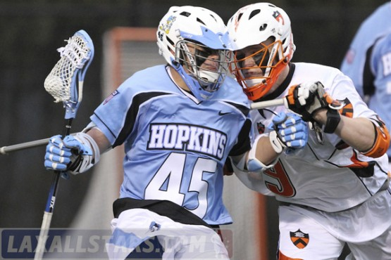 Princeton vs. Johns Hopkins men's lacrosse 21