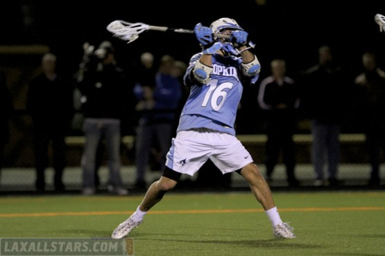 Princeton vs. Johns Hopkins men's lacrosse 41