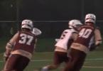 Lehigh Lacrosse defense practice