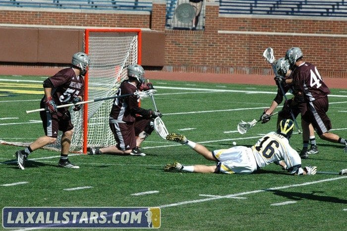 Michigan vs. Bellarmine Lacrosse Game 15