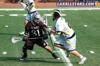 Michigan vs. Bellarmine Lacrosse Game 45