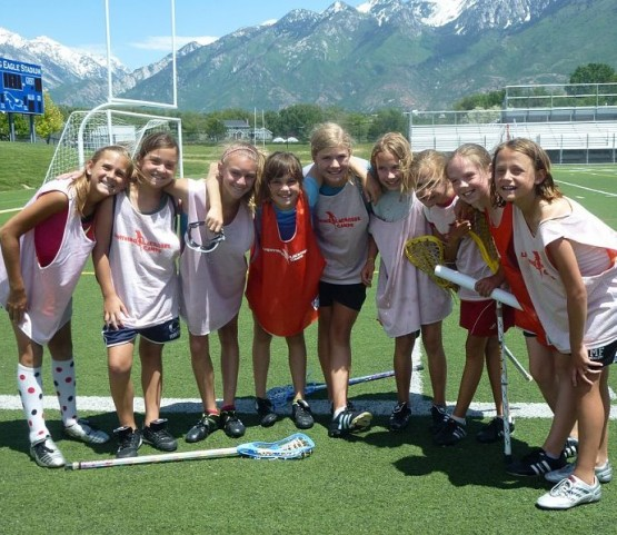 Lightning Lacrosse girls