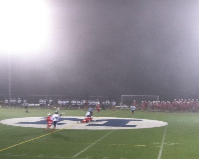 SUNY Maritime lacrosse wesleyan fog