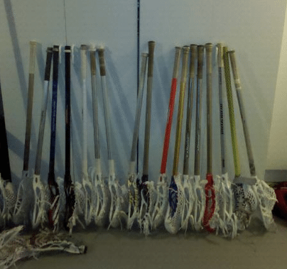 stick collection huge lacrosse