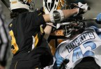 Towson Hopkins Lacrosse crosscheck