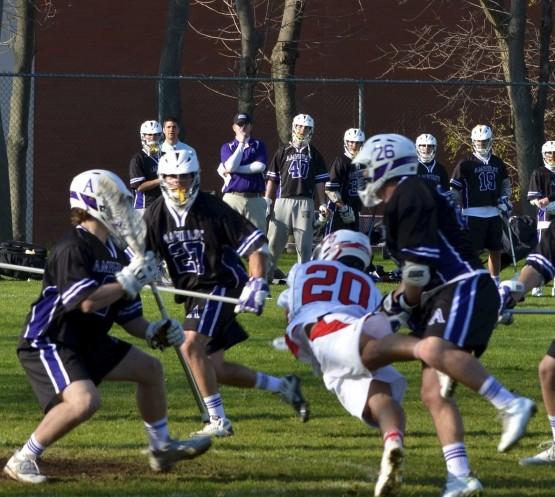 Wesleyan Amherst lacrosse NESCAC