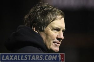 Bill Belichick watching the game!