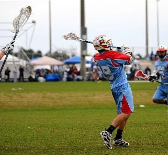 no look lacrosse goal