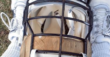 old lacrosse helmet bacharach