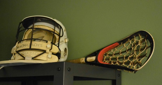 old school lacrosse helmet bacharach