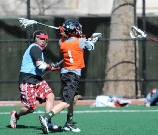 overhand shot lacrosse